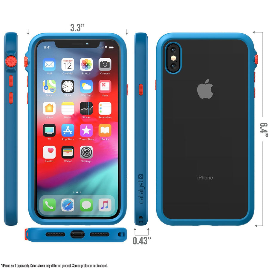 CATDRPHXTBFCL-FBA | Impact Protection Case for iPhone Xs Max