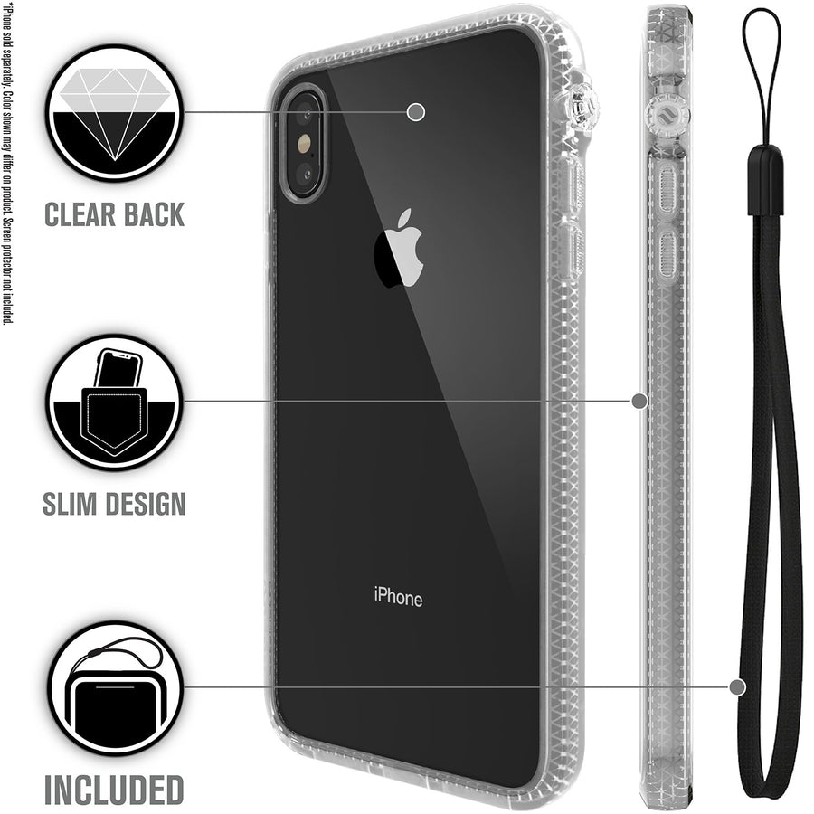 CATDRPHXCLRL-FBA | Impact Protection Case for iPhone Xs Max