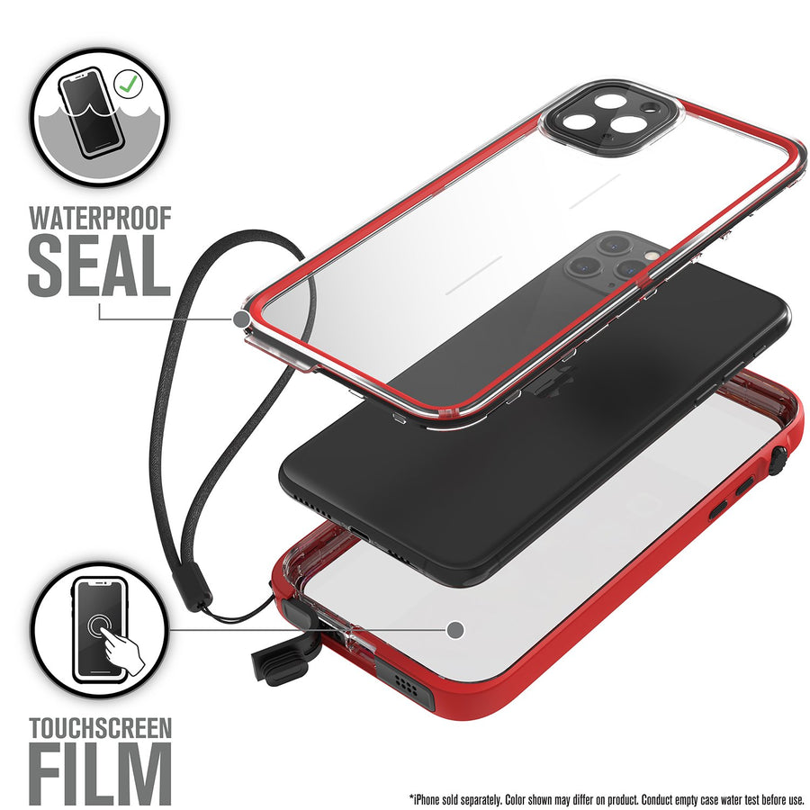 CATIPHO11REDL | Waterproof Case for iPhone 11 Pro Max