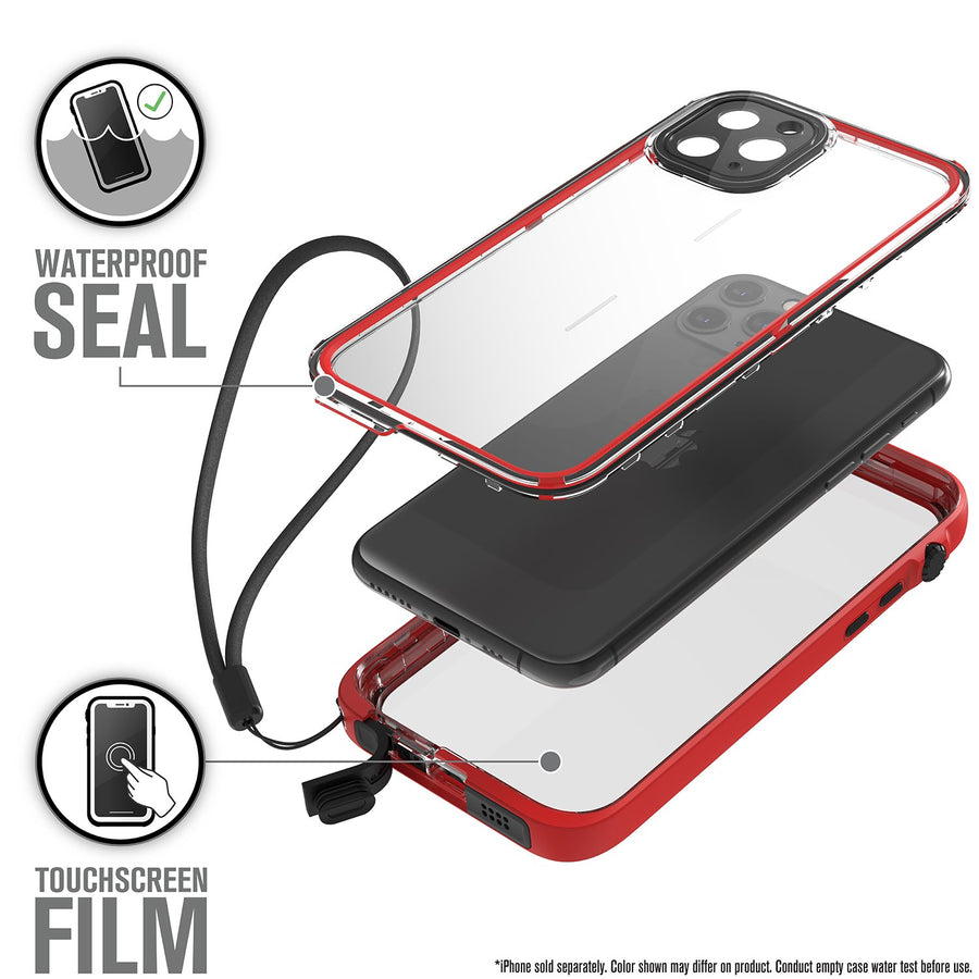CATIPHO11REDS | Waterproof Case for iPhone 11 Pro