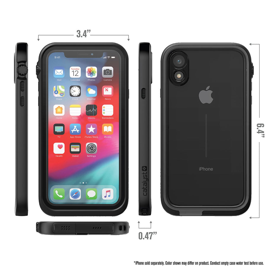 CATIPHOXBLKM | Waterproof Case for iPhone XR
