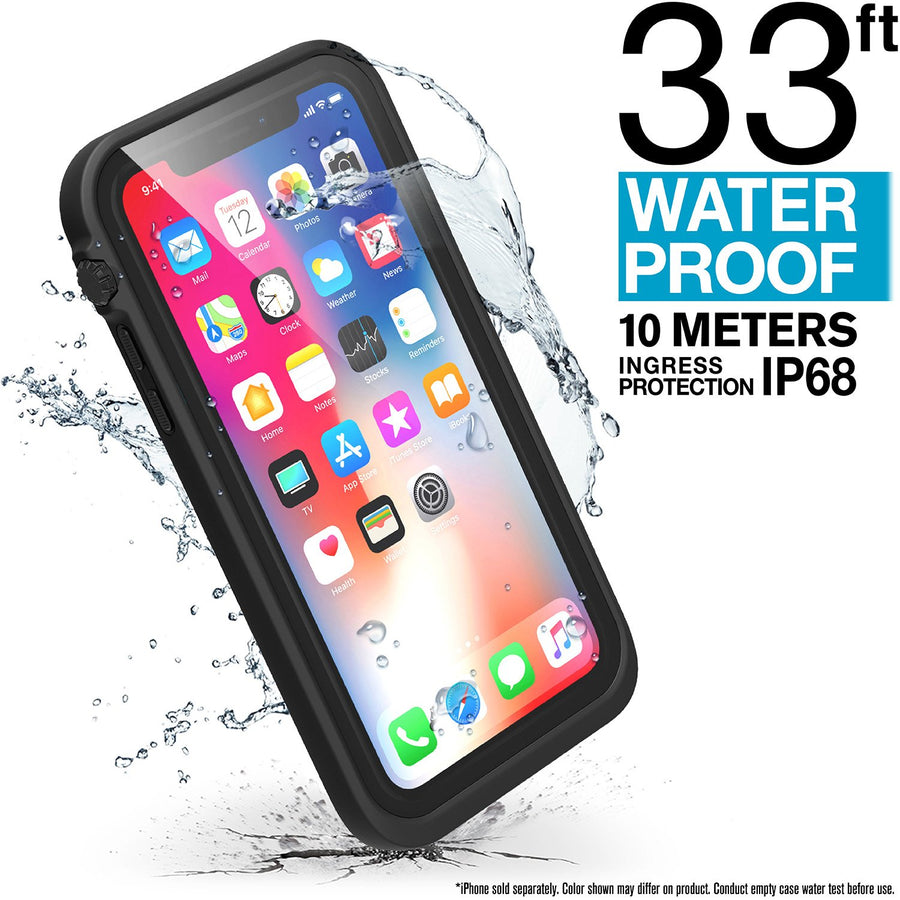 CATIPHOXBLK | Waterproof Case for iPhone X