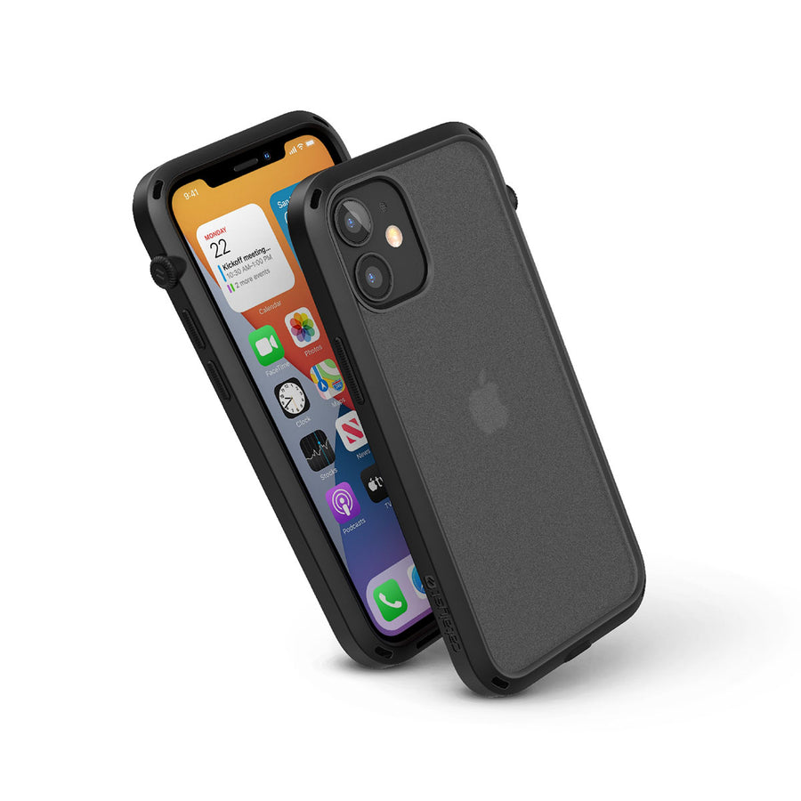 CATDRPH12BLKS | iPhone12_L_influence_black