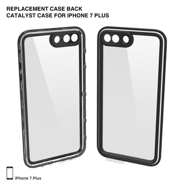 CATBACBLK7+ | Replacement Case Back for Catalyst Case for iPhone 7 Plus