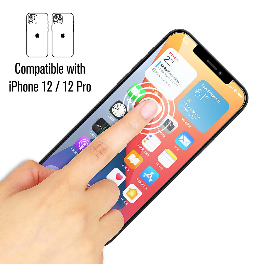 Tempered Glass Screen Protector for iPhone 12 Pro