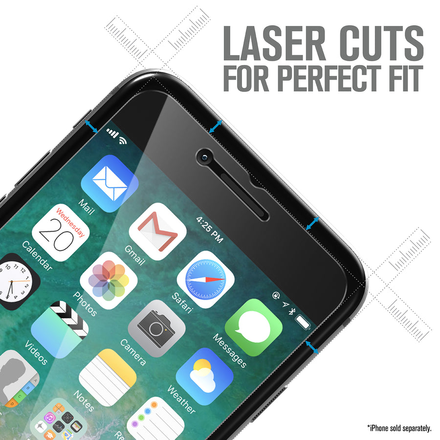 Tempered Glass Screen Protector for iPhone SE (2nd Gen - 2020)