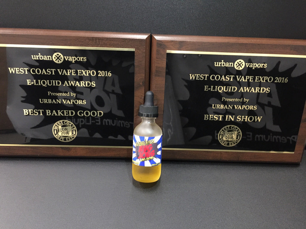 "West Coast Vape Expo Award Winner ""Lemon Scout"""