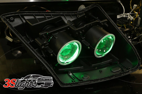 Halo and demon eye do it yourself kits 3000gtgtostealth 3s color changing demon eyes for the mitsubishi 3000gtgto and dodge stealth diy kit solutioingenieria Gallery
