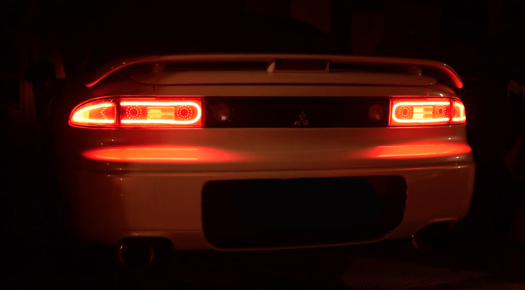 Mitsubishi 3000gt Gto Led Tail Light Conversion Style A 3s Lights