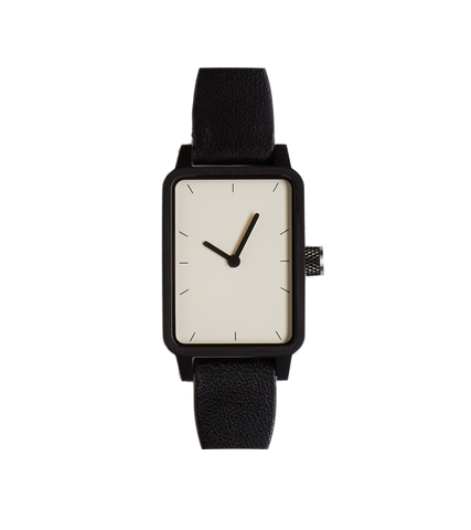 #3 Watch - Black / White / Black - 32mm