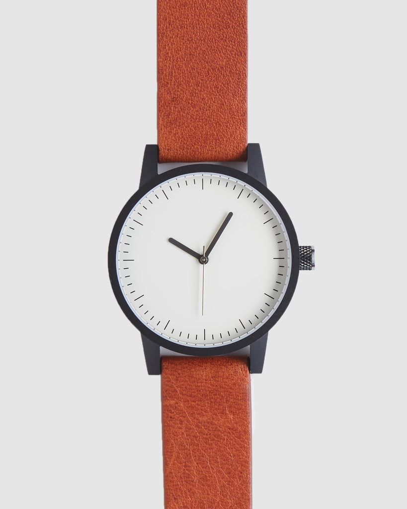 Kent Watch - Blk / Wht / Tan - 38mm