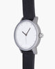 Kent Watch - Black / White / Silver - 38mm