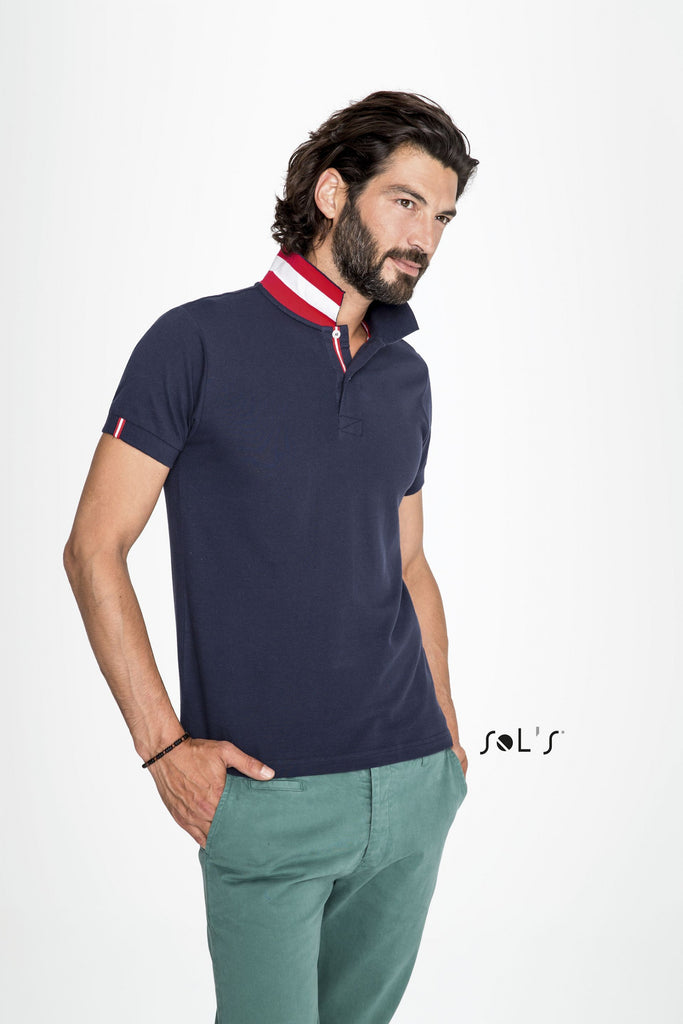Patriot Men's Polo Shirt S00576