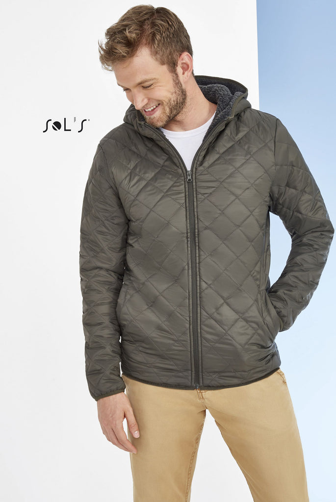 Rover Unisex Hooded Padded Jacket S01615