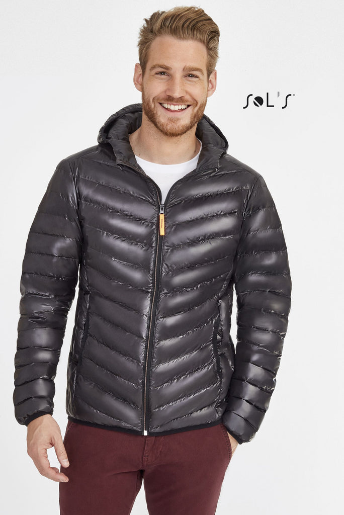 Ray Men'S Light Hooded Down Jacket S01620