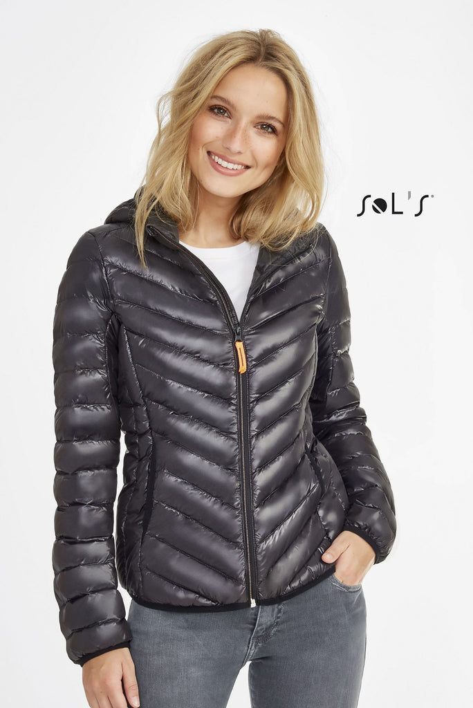 Ray Women'S Light Hooded Down Jacket S01621