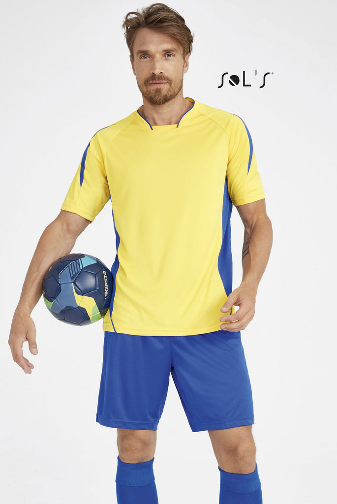 Maracana 2 Ssl Adults' Finely Worked Short Sleeve Shirt S01638