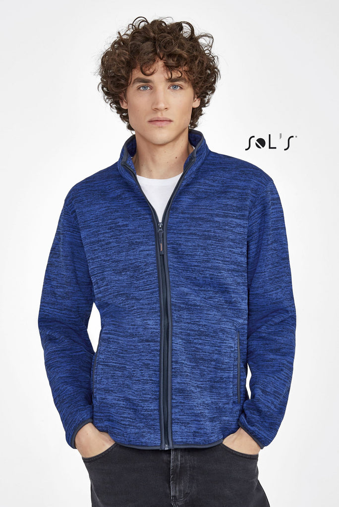 Turbo Knitted Fleece Jacket S01652