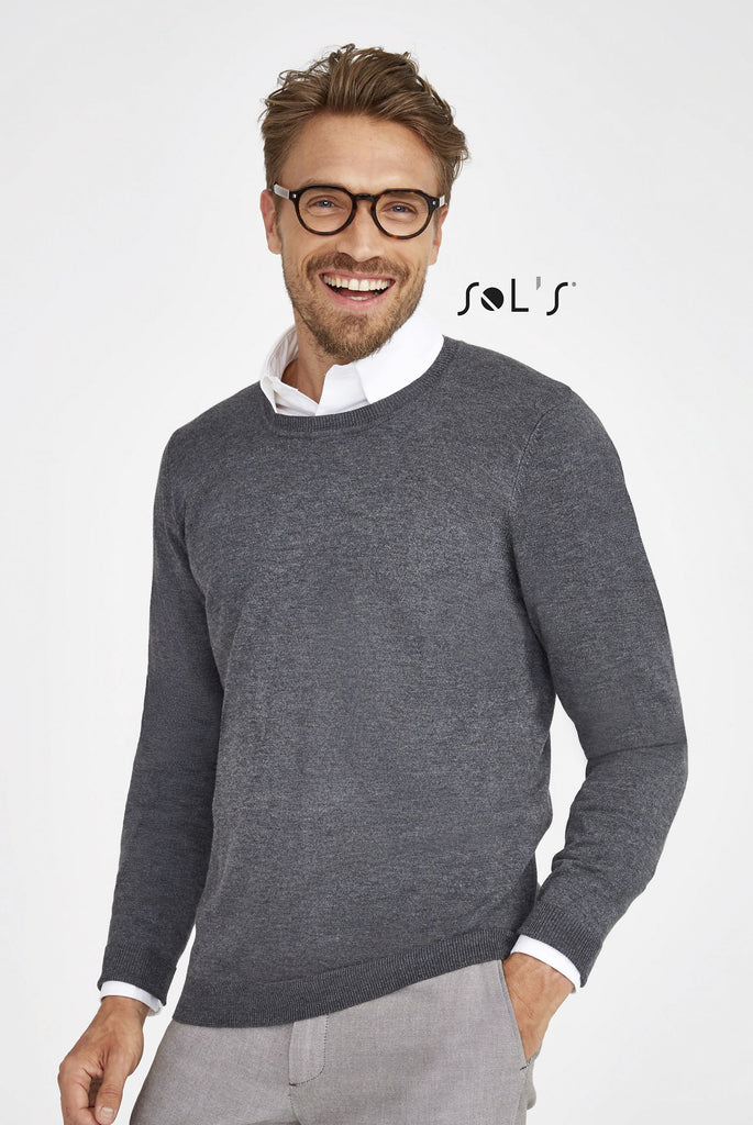 Ginger Men's - Round Neck Sweater S01712