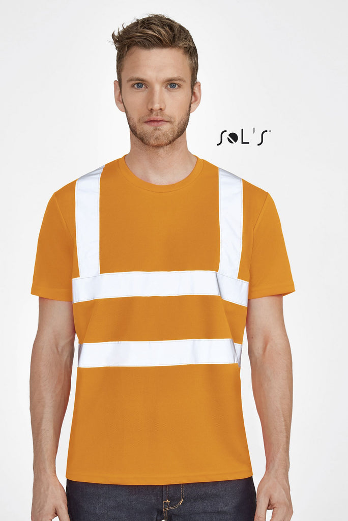 Mercure Pro T-Shirt With High Visibility Strips S01721