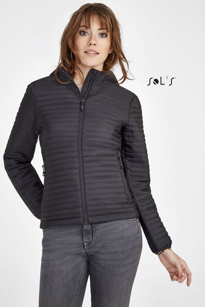 Rocket Women'S Lightweight Heat-Sealed Padded Jacket S02015