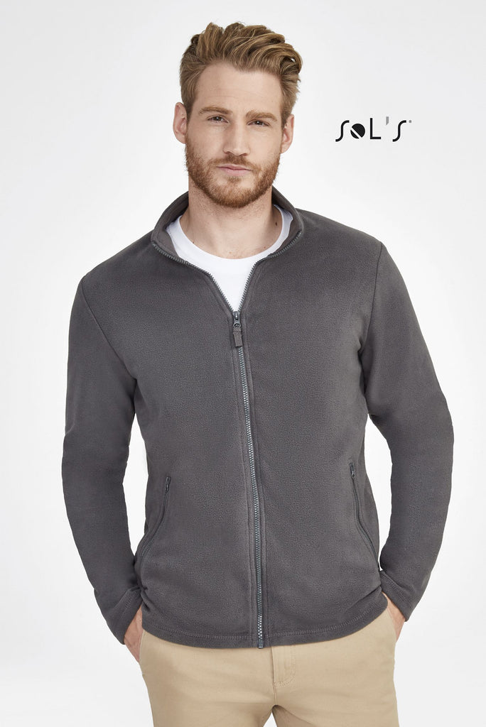 Norman Men'S Plain Fleece Jacket S02093