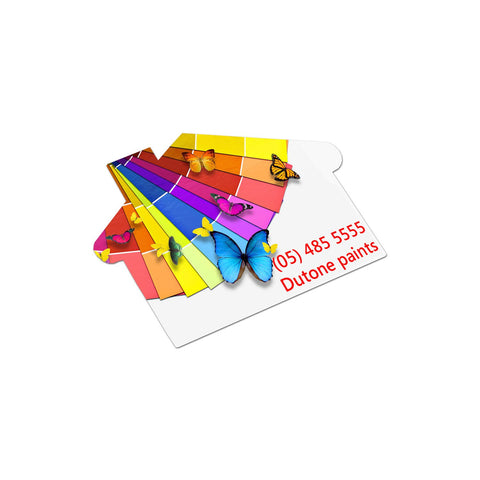 AD Labels 70 x 50mm - House Shaped 100113