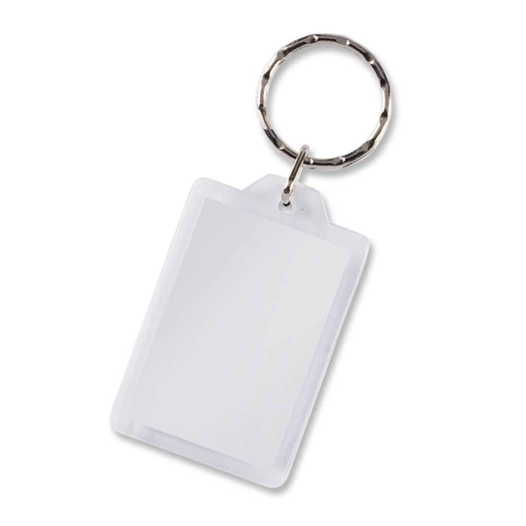 Lens Key Ring - Rectangle  Wholesale