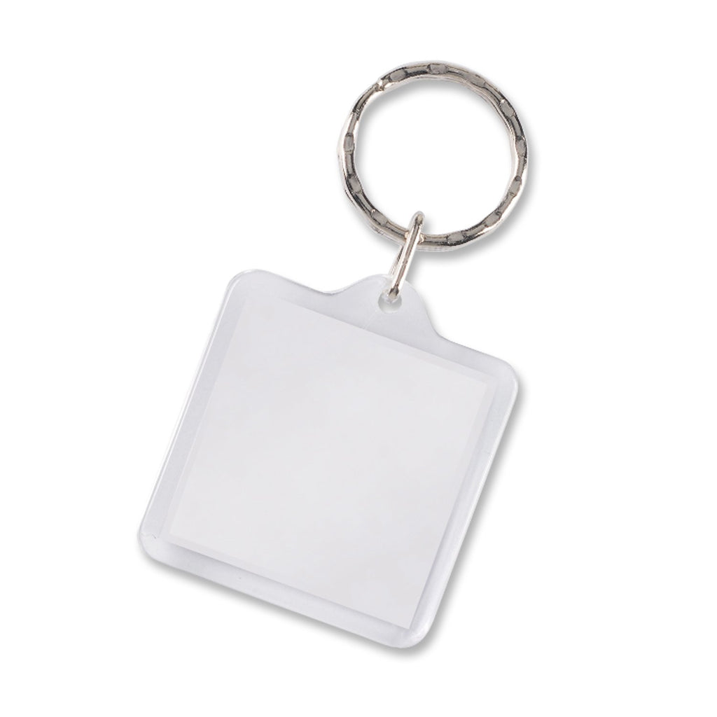 Lens Key Ring - Square  In Bulk