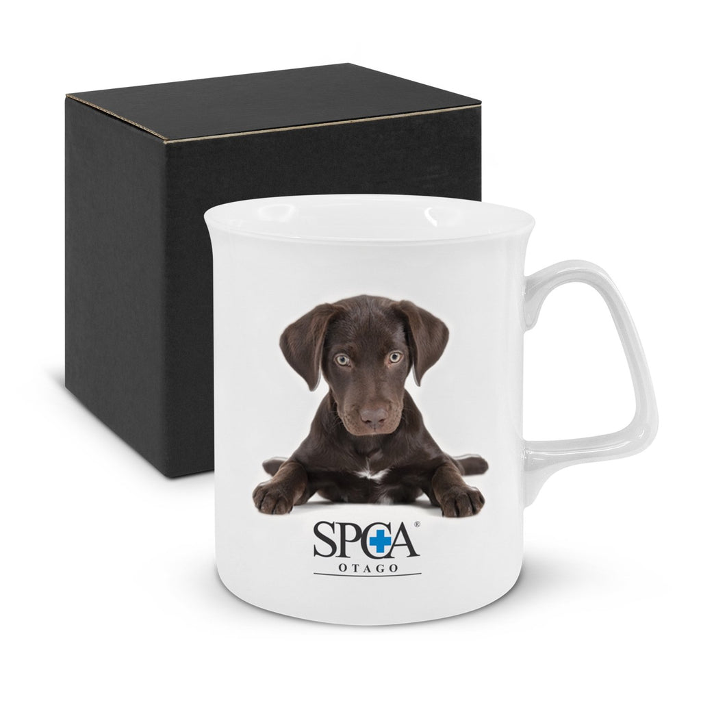 Chroma Bone China Custom Coffee Mug