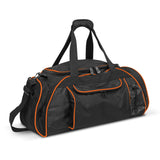 Orange Horizon Duffle Bag In Bulk