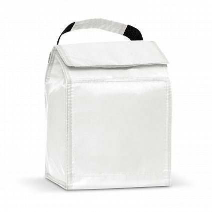 White Promo Solo Lunch Cooler Bag