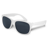 White Malibu Basic Custom Sunglasses