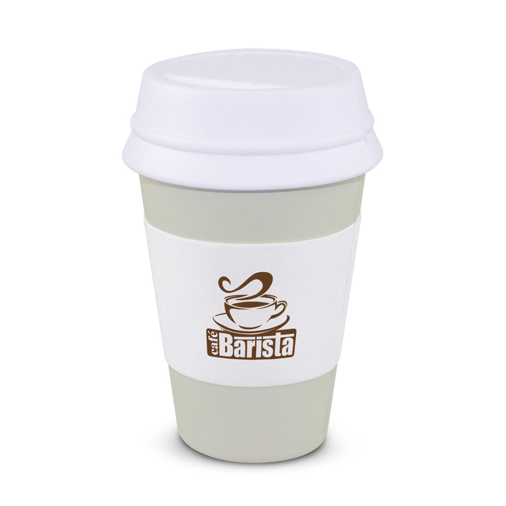 Stress Coffee Cup With Logo