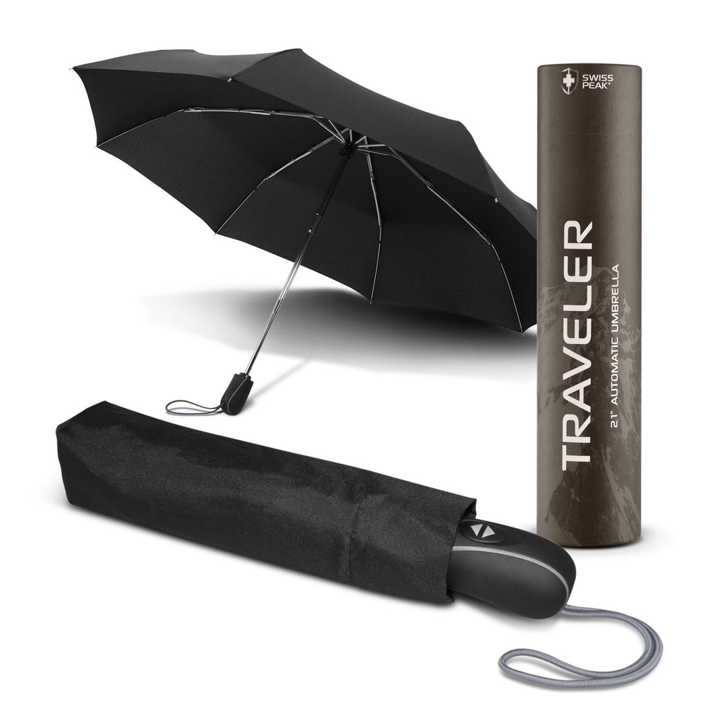 Swiss Peak Traveler Personalised Umbrella