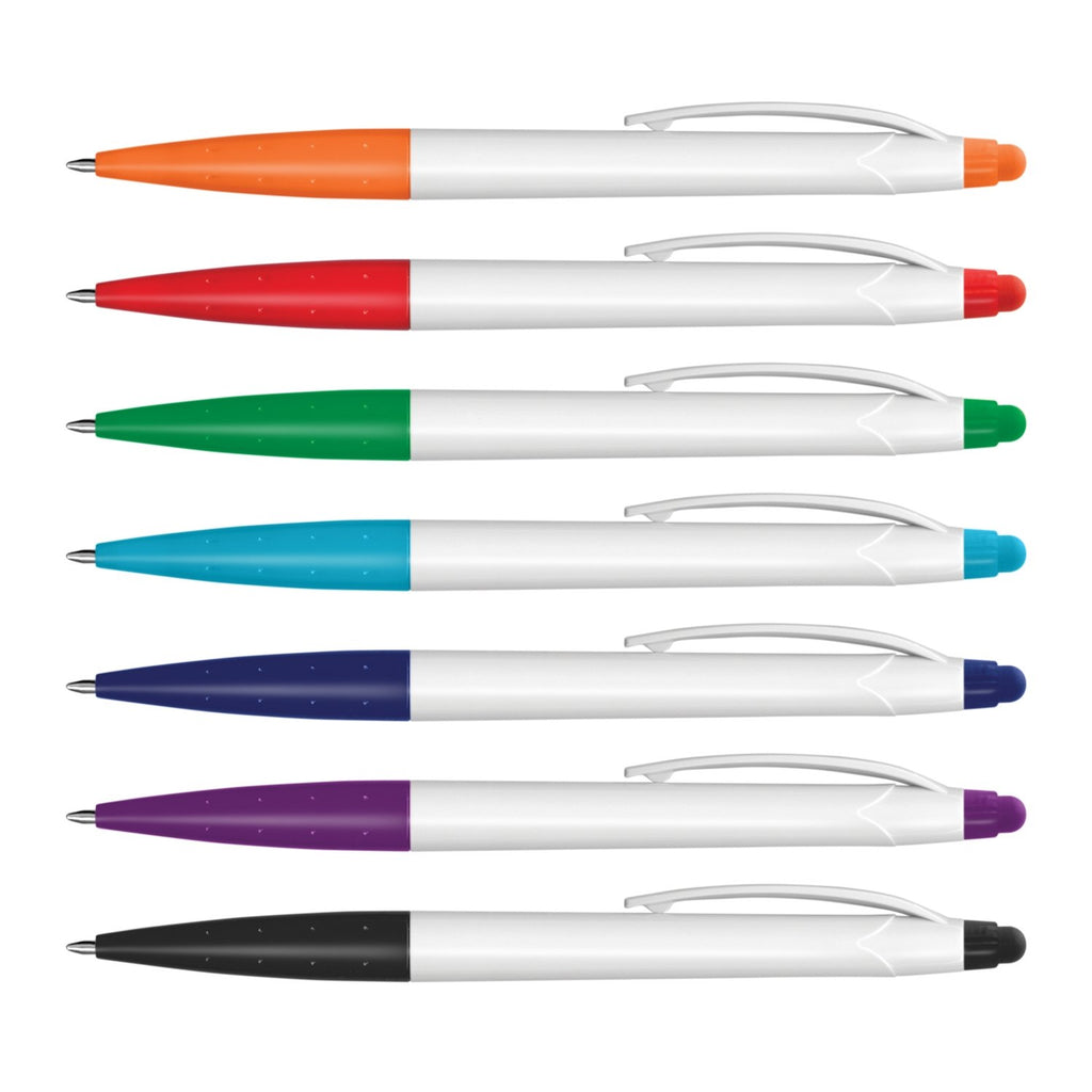 Spark Stylus Pen Supplier - White Barrel