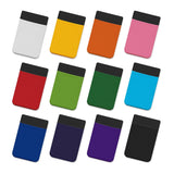 White Lycra Phone Wallet - Full Colour For Sale
