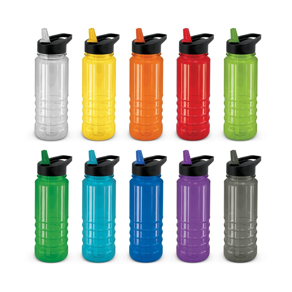 Triton Personalised Drink Bottle - Black Lid