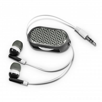 Retractable Reflective Earbuds 111615
