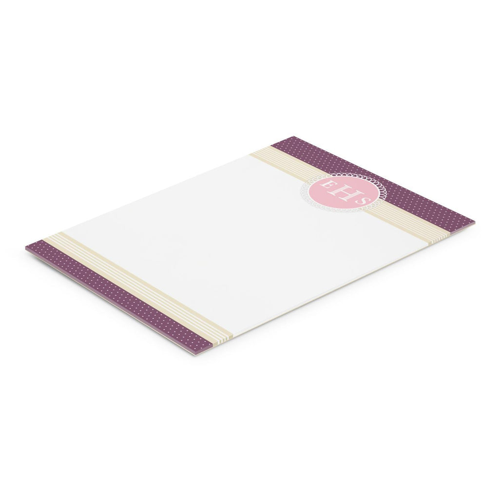 A4 Note Pad - 25 Leaves With Logo