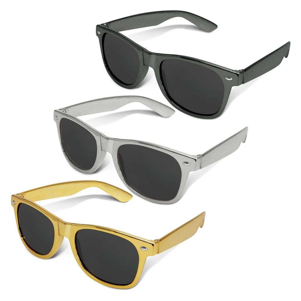 Malibu Premium Custom Sunglasses - Metallic