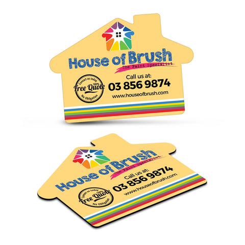 Fridge Magnet 70 x 50mm - House Shape 112307