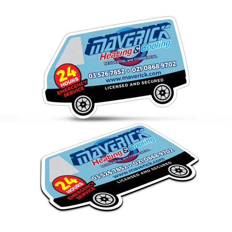 Fridge Magnet 90 x 55mm - Van Shape 112308