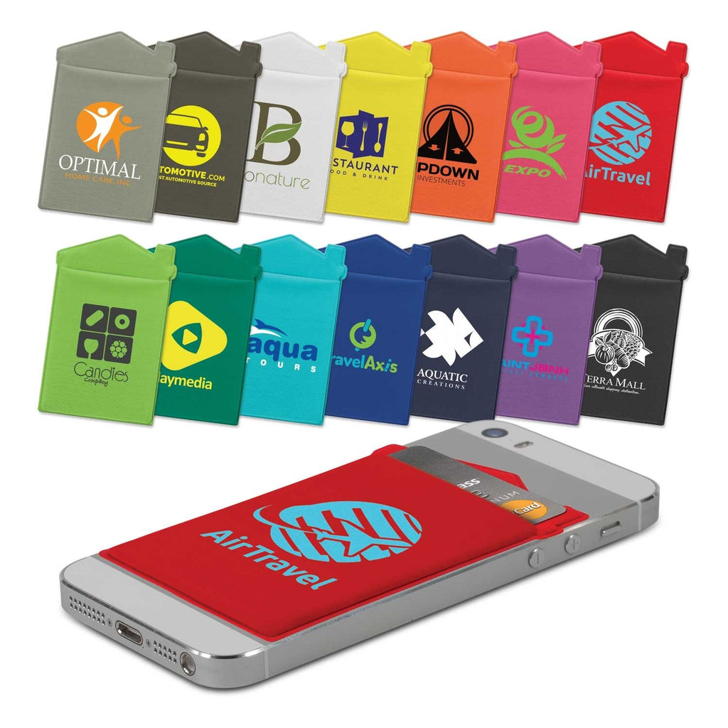 Printed Lycra House Phone Wallet - Heat Transfer