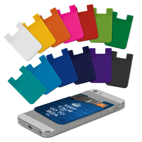Silicone Phone Wallet - Full Colour 112924