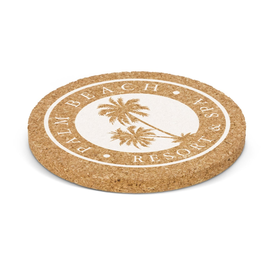 Oakridge Cork Personalised Coaster - Round