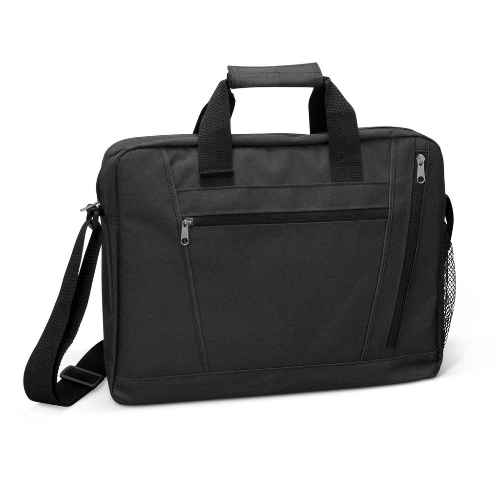 Black Luxor Conference Printed Satchel