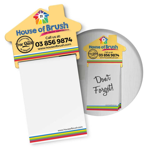 Magnetic House Memo Pad 113367