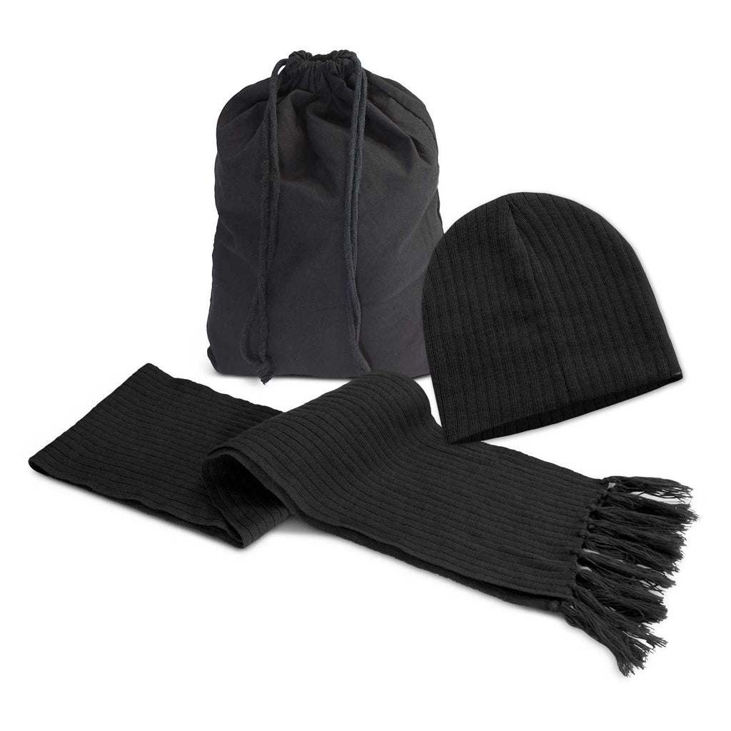 Nebraska Scarf and Beanie Set 113842