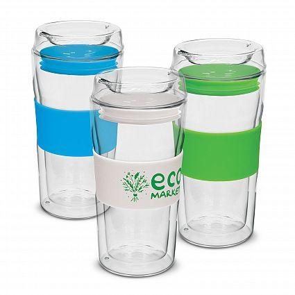 Divino Double Wall Glass Promotional Cup